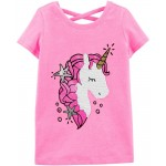Crossback Flip Sequin Unicorn Top
