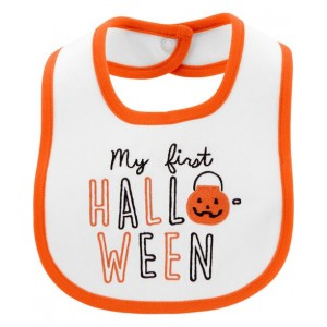 First Halloween Teething Bib