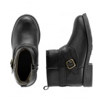 Carters Glitter Buckle Boots