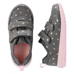 Carters Heart Athletic Sneakers