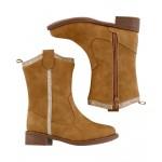 Gold-Trim Boots