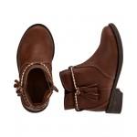 Braided Tassel Boots