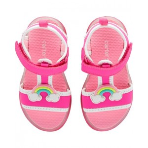 Carters Rainbow Light-Up Sandals