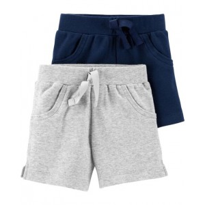 2-Pack Certified Organic Pull-On Shorts