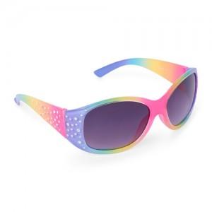 Girls Faceted Rainbow Sunglasses