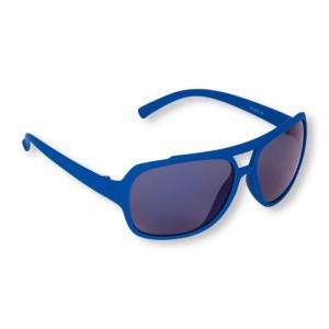 Boys Rubberized Aviator Sunglasses
