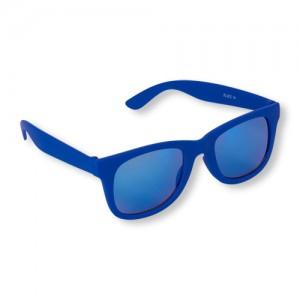 Boys Rubberized Retro Sunglasses