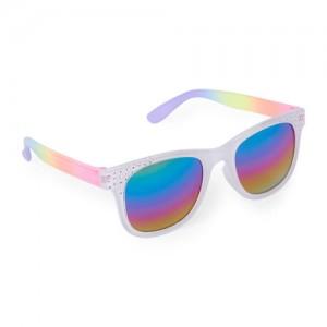 Girls Faceted Retro Sunglasses