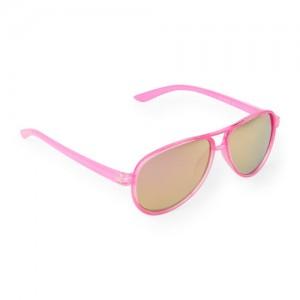 Toddler Girls Plastic Aviator Sunglasses