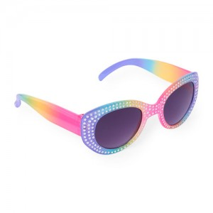 Toddler Girls Faceted Rainbow Sunglasses