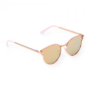 Girls Round Cat Eye Aviator Sunglasses