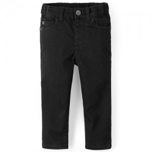 Baby And Toddler Boys Basic Stretch Skinny Jeans - Black Denim Wash