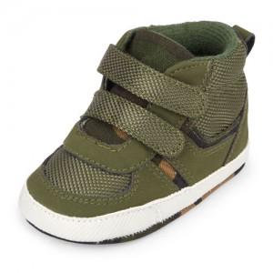 Baby Boys Hi-Top Camo Sneakers