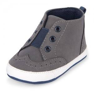 Baby Boys Mid-Top Casual Shoe