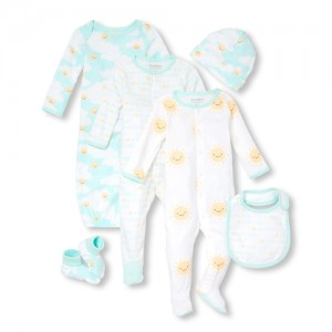 Unisex Baby Sunny Family 6-Piece Take Me Home Set