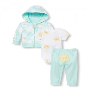 Unisex Baby Sunny Family 3-Piece Take Me Home Set