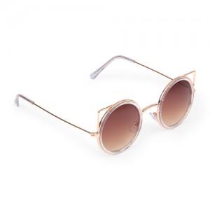 Girls Metal Cat Eye Sunglasses