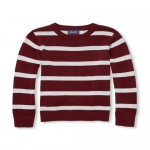 Boys Long Sleeve Striped Sweater