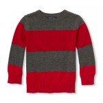 Baby And Toddler Boys Long Sleeve Striped Sweater