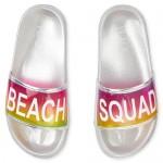Girls 'Beach Squad' Slides
