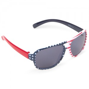 Toddler Boys Americana Aviator Sunglasses