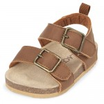 Baby Boys Double Strap Sandals