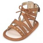 Baby Girls Studded Gladiator Sandals