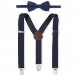 Boys Bow Tie And Suspenders Set