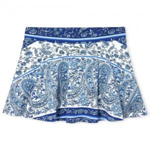 Girls Matchables Print Knit Skort
