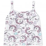 Baby And Toddler Girls Matchables Print Ruffle Tank Top