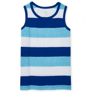 Baby And Toddler Boys PLACE Sport Striped Tank Top