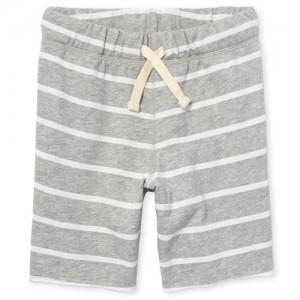 Boys Print Knit Terry Shorts