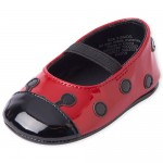 Baby Girls Ladybug Ballet Flats