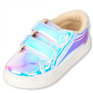 Toddler Girls Holographic Sneakers