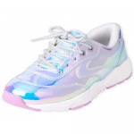 Girls Holographic Sneakers