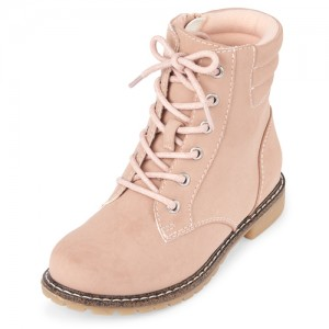 Girls Lace Up Boots
