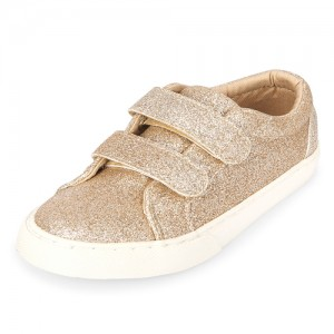 Toddler Girls Glitter Low Top Sneakers