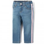 Baby And Toddler Girls Side Stripe Denim Jeans