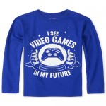 Boys Video Games Graphic Tee