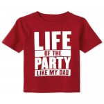 Baby And Toddler Boys Party Graphic Tee
