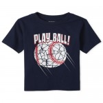 Baby And Toddler Boys Baseball Graphic Tee