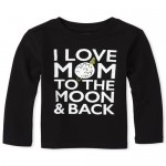 Baby And Toddler Boys Mom Graphic Tee