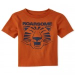 Baby And Toddler Boys Tiger Graphic Tee