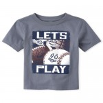 Baby And Toddler Boys Sports Graphic Tee
