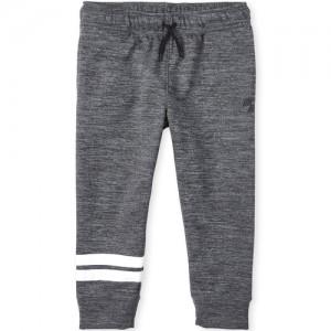 Boys PLACE Sport Striped Performance Fleece Jogger Pants