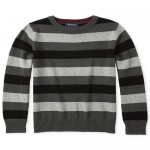 Boys Striped Matching Sweater