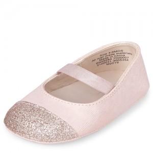 Baby Girls Glitter Ballet Flats