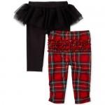 Baby Girls Plaid Tutu Pants 2-Pack
