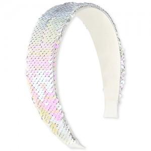 Girls Flip Sequin Light Up Headband