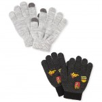 Boys Food Texting Gloves 2-Pack